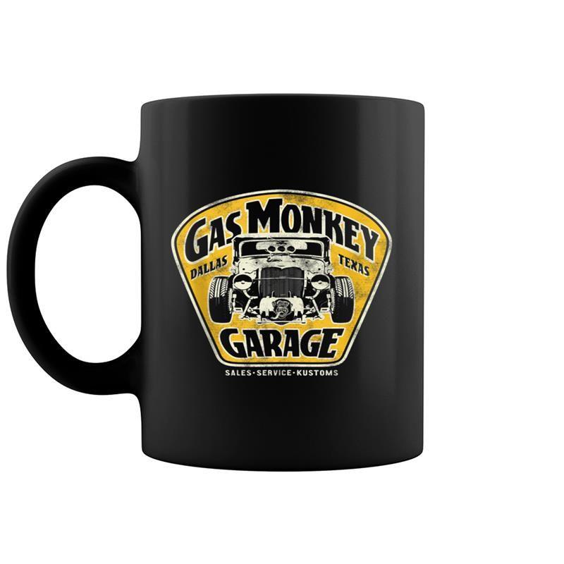 Gas Monkey Garage Muscle Car Sign Logo #gasmonkeygarage