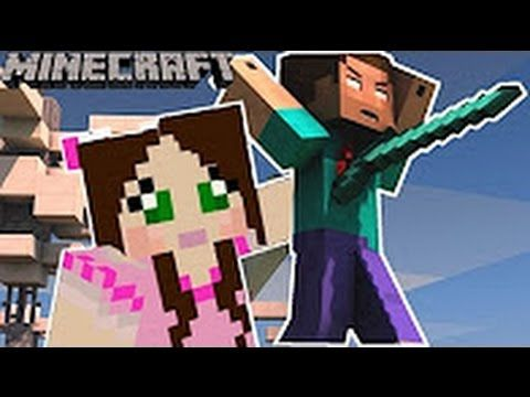 PopularMMOs Pat and Jen Minecraft WOULD YOU RATHER DEATH VERSION   Mini ...