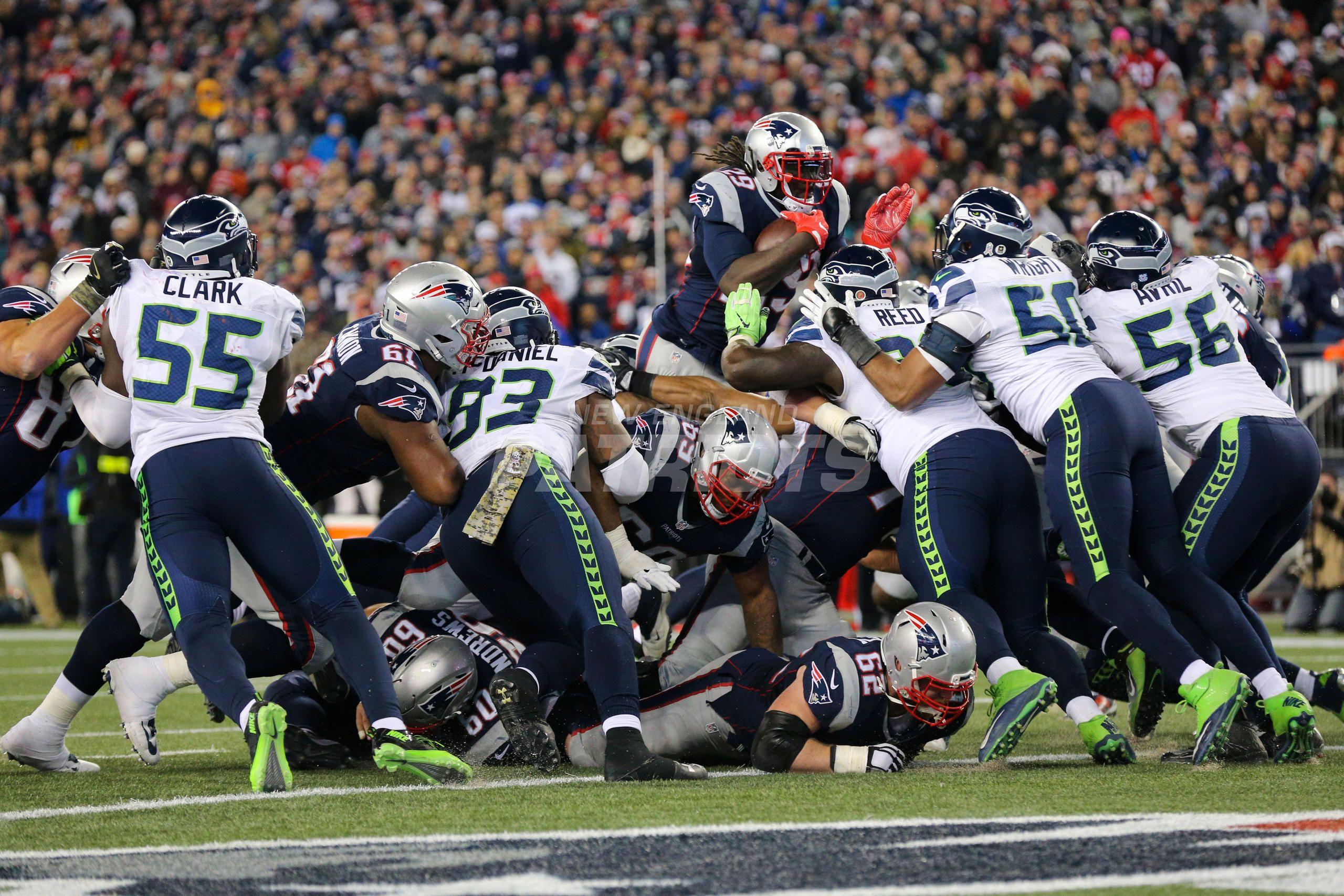 Patriots Vs Seahawks Week 10 Seahawks Patriots New England Patriots
