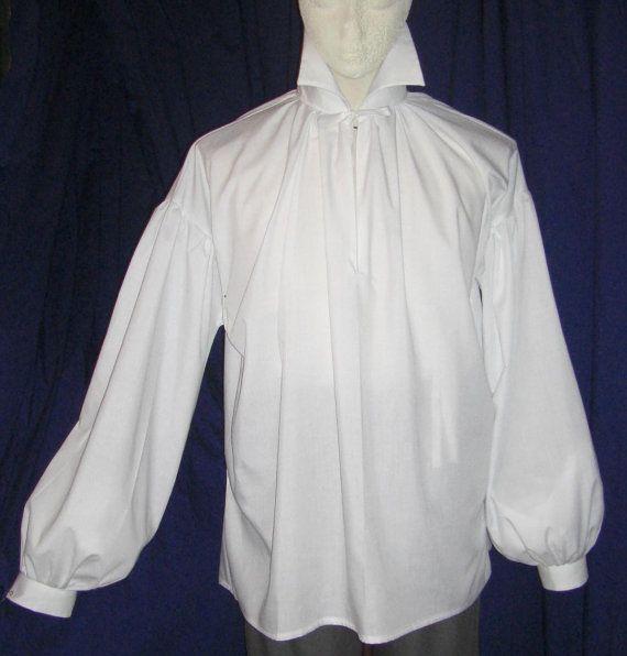 cb8ef5b5368153 Mens Regency/ DARCY High Neck Cotton Dress Shirt with button cuff ...