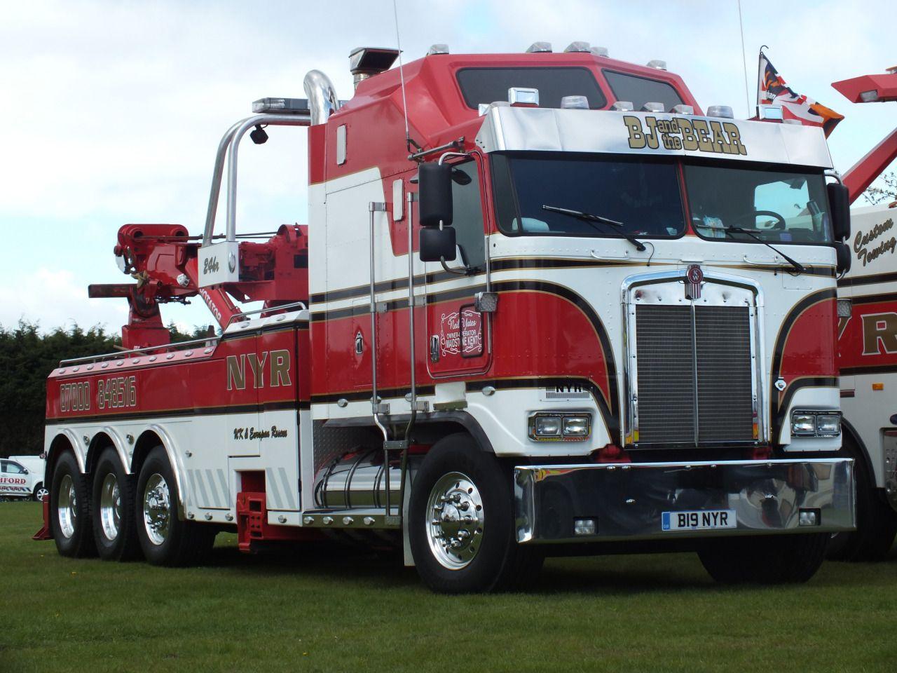 coe Kenworth custom K100 aerodyne rotator US Trucks