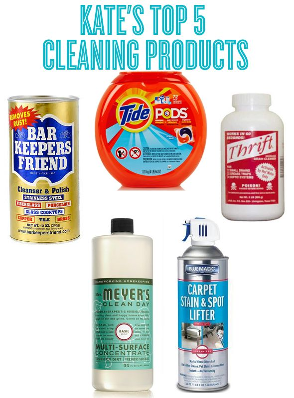 Kate S Top 5 Cleaning Products Cleaning Best Cleaning Products