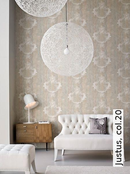 Tapete Justus, col20 - TapetenAgentur Wohnung Pinterest - wohnzimmer tapeten ideen braun