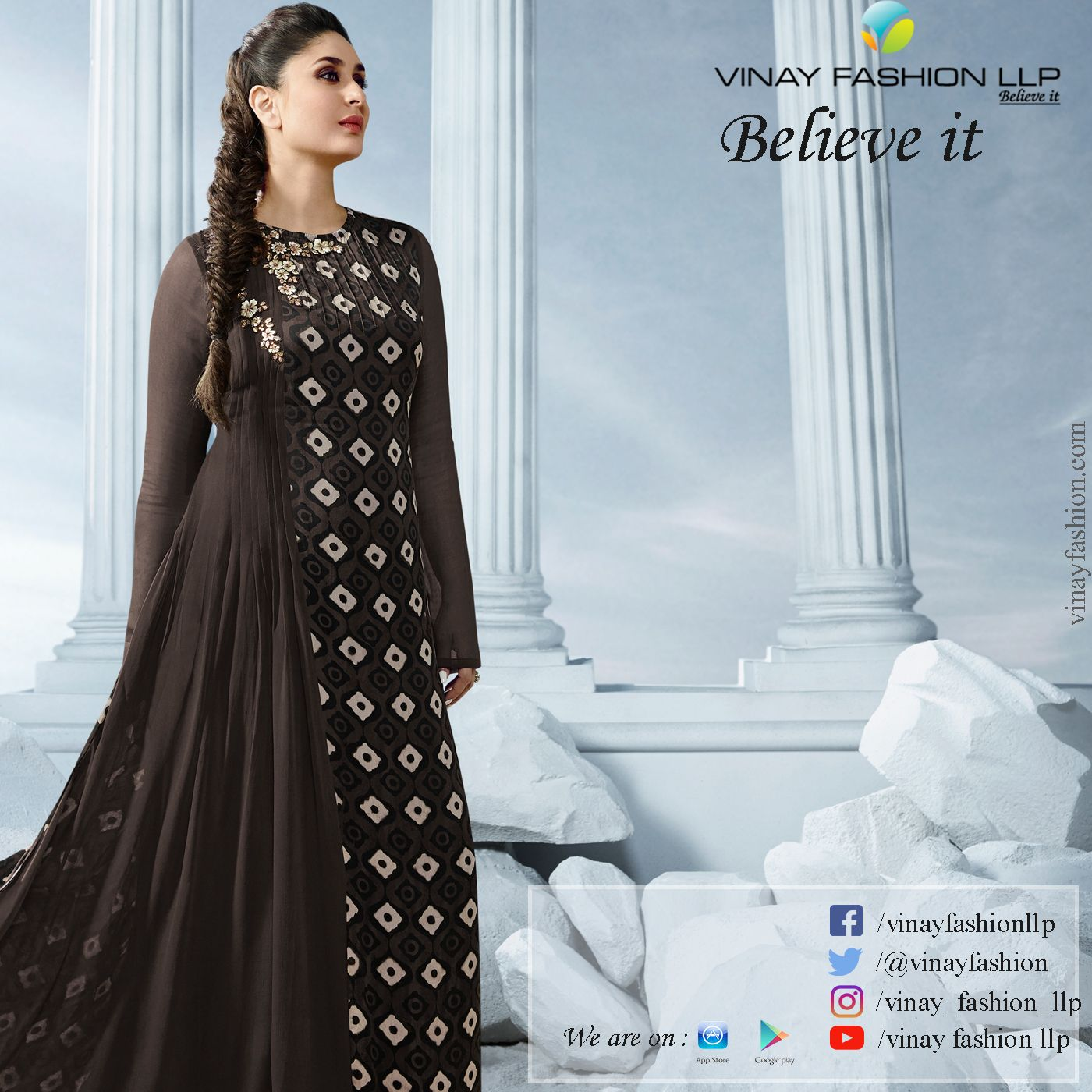 a9d89ab68b Pin by Vinay Fashion Llp on Tumbaa in 2019 | Formal dresses, Dresses ...