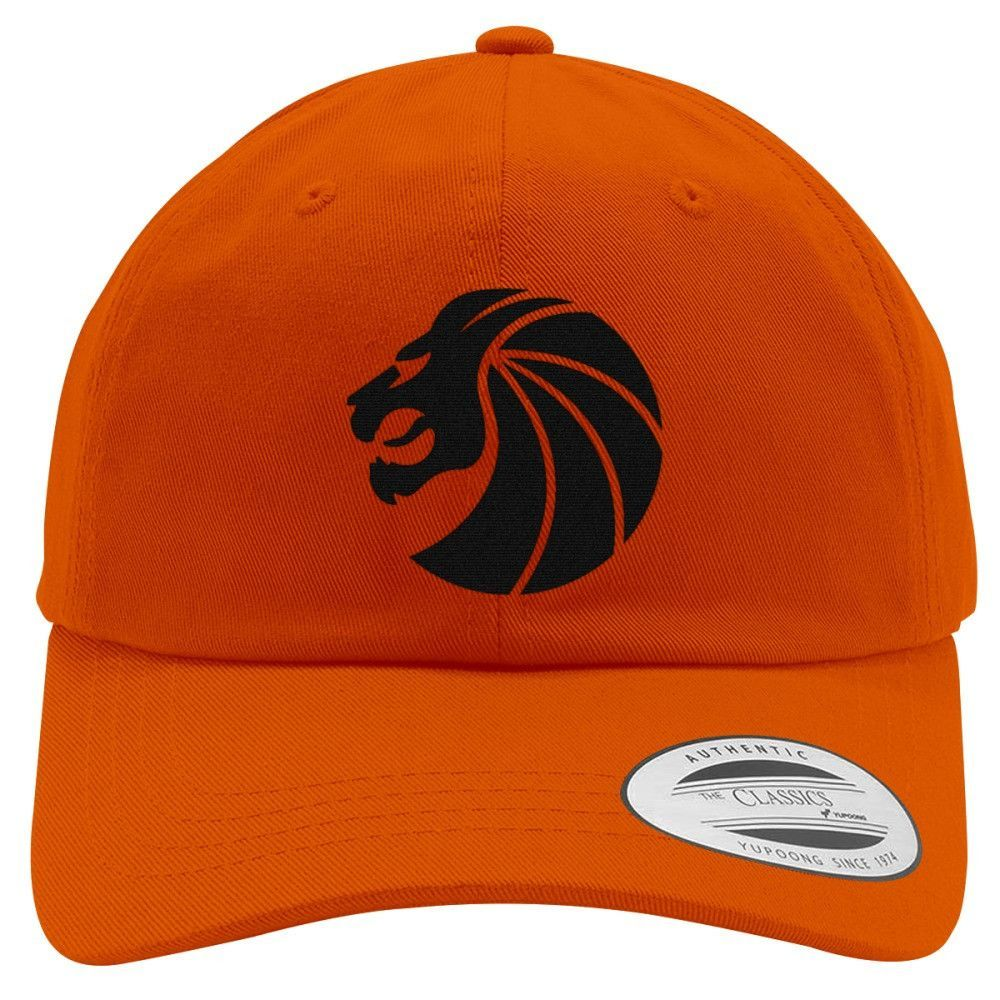 Seven Lions Embroidered Cotton Twill Hat