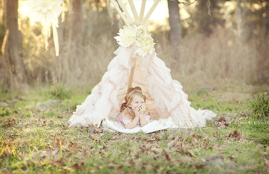 Adore this little girl ~ sugary sweet and as sparkly as they come ~ Portraiture by  Chubby Cheek Photography.