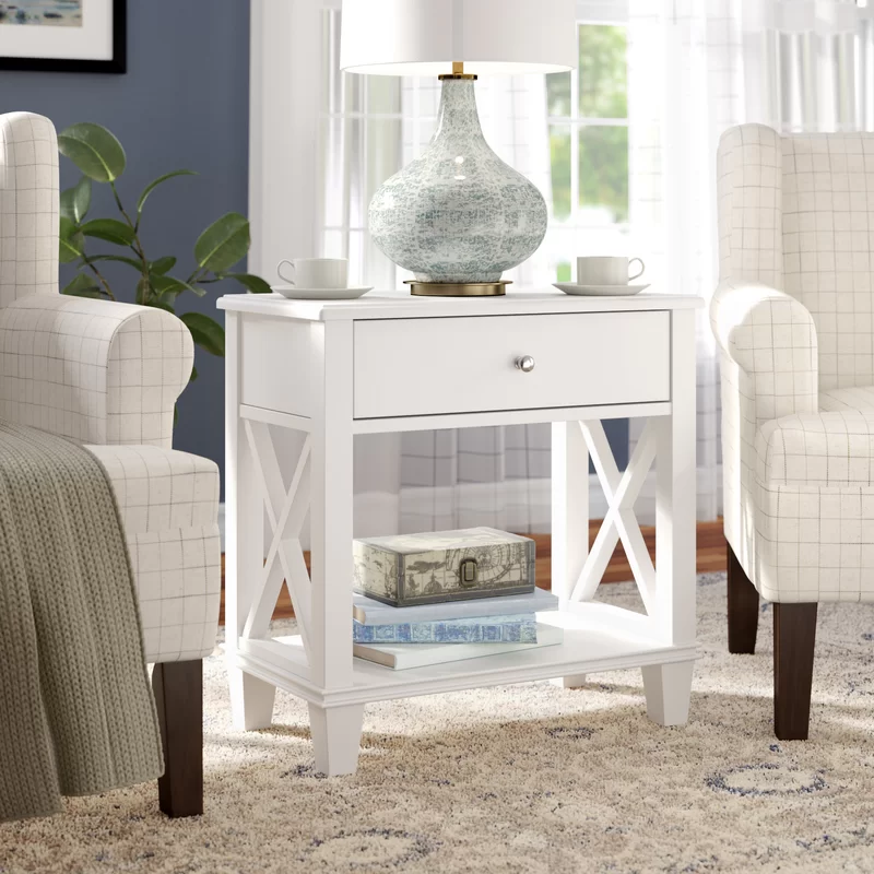 Flintridge End Table With Storage In 2020 End Tables With