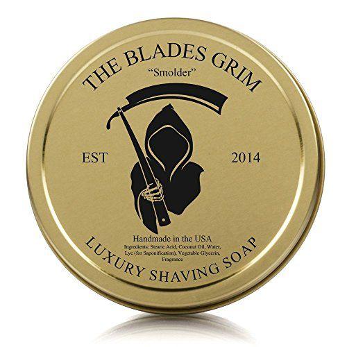 The Blades Grim Gold Luxury Shaving Soap Smolder The B Https Www Amazon Com Dp B00jiyagmg Ref Cm Sw R Pi Best Shaving Soap Shaving Soap Classic Shaving