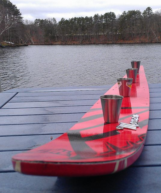 Water Ski Shot Ski By Www.americanadirondackchairs.com