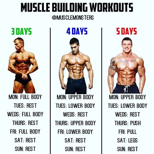 Muscle Building Workouts By Musclemonsters Visit The Link In My Bio To Claim Your Free Copy Of The Book Best Workout Routine Workout Splits Fun Workouts