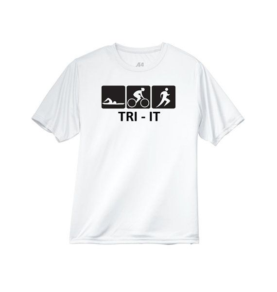 Triit Triathlon Mens Performance Crew Shirt By Humanitysource