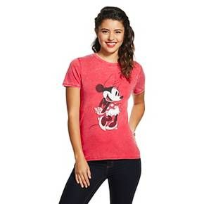 Minnie Graphic Tee Athletic Red - Disney : Target