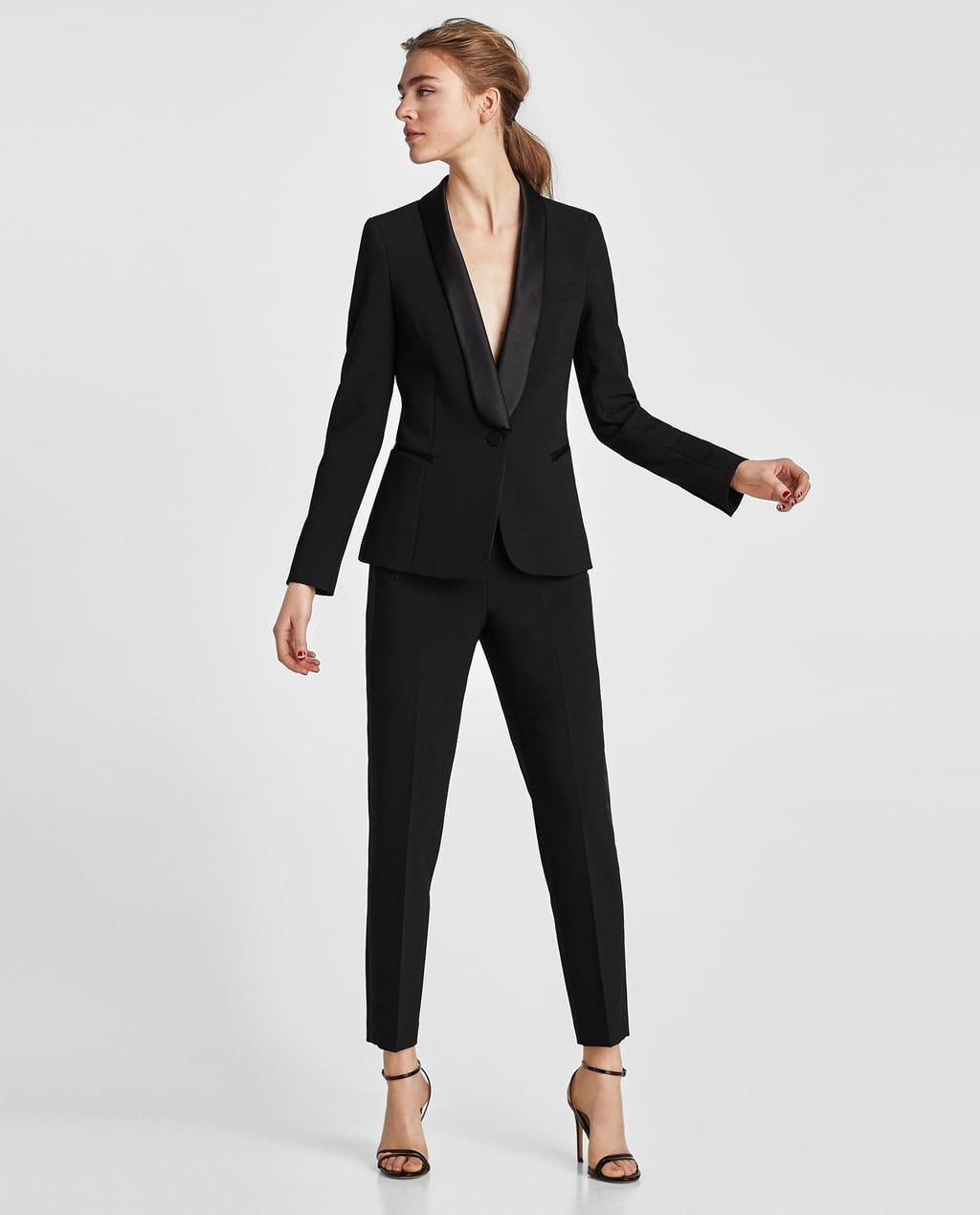 BLAZER SMOKING in 2019   Wear   Fashion, Blazer, Tuxedo e4e1cebf6c56