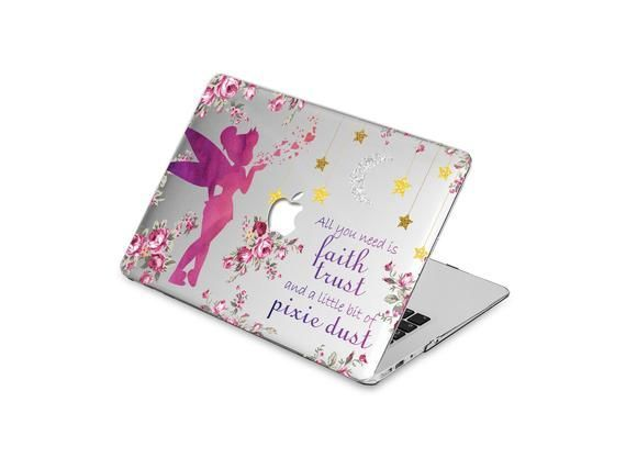 Fairy MacBook Pro 13 Case Flowers MacBook Air 13 Case Floral | Etsy