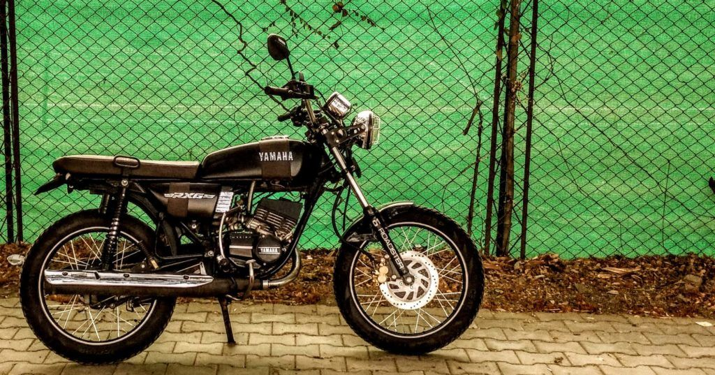 Modified Yamaha Rx 135 Scrambler Restoration By Studio 21 With
