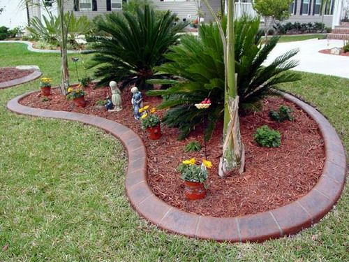 Ceautiful Concrete Edge Images Easy Tutorial On How You Can Make And Maintain Your Own Flower Beds Garden Edging Small Flower Gardens Landscape Edging