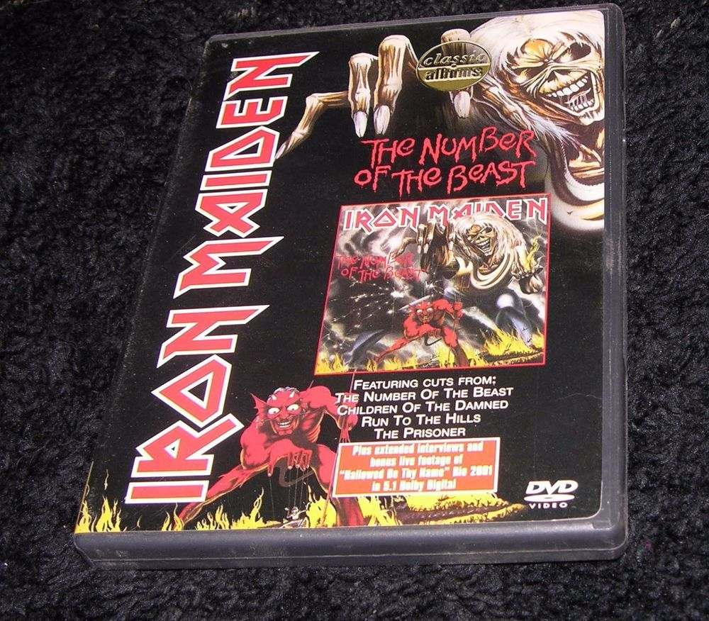 Iron Maiden The Number Of The Beast Classic Albums Dvd Live