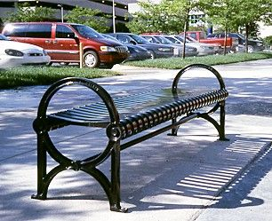 Model Cr 14 A City Sites Series Backless Bench With Graceful