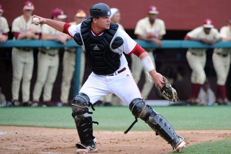 Indiana baseball's Kyle Schwarber was easy catch for Coach Smith