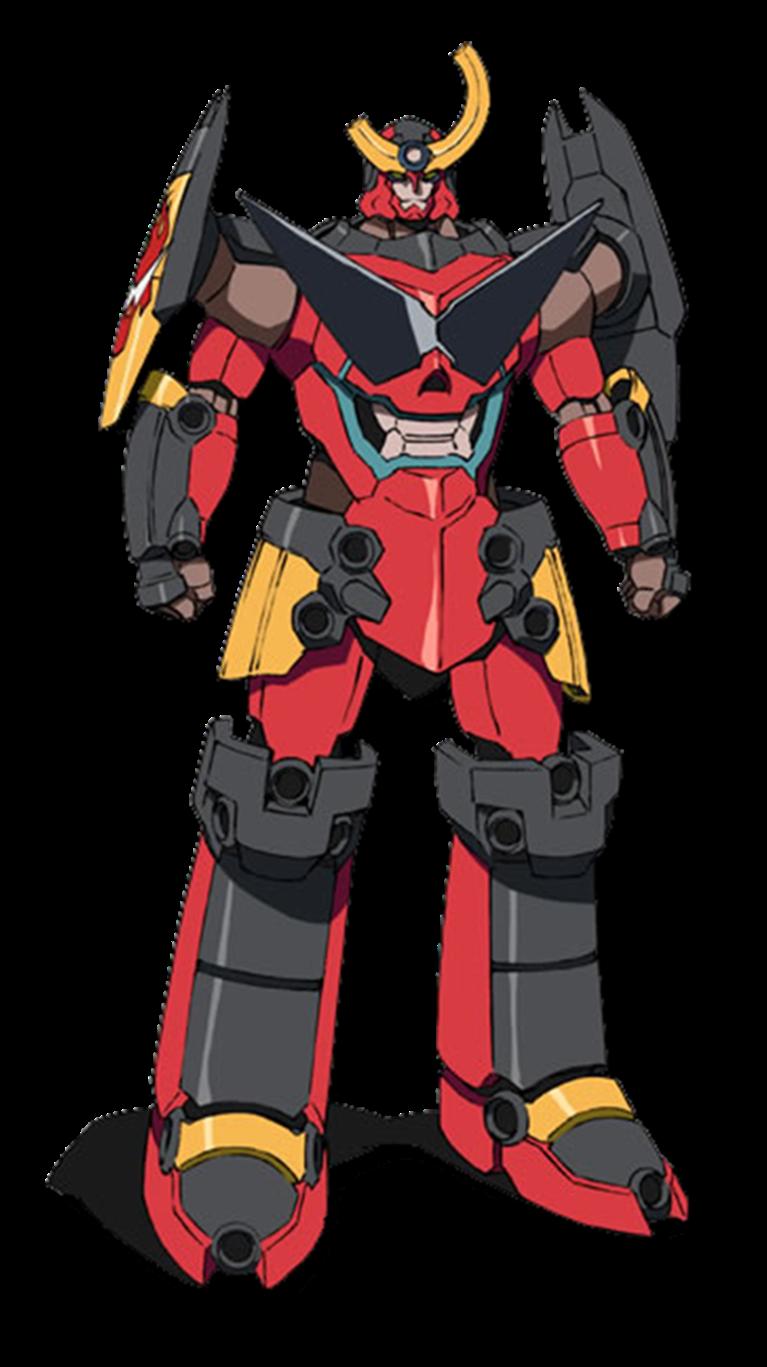Gurren Lagann (Gunmen) Gurren lagann, Super robot and Fandom
