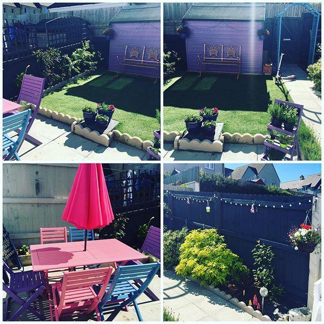 Michelle Has Been Using The Cuprinol Garden Shades Range To Really Brighten Up Her Entire Garden It Looks Great Shade Garden Cuprinol Garden Shades Cuprinol