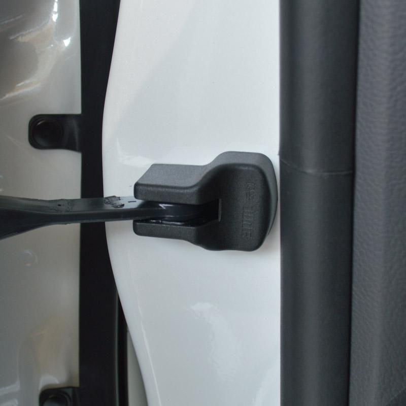 Auto Door Lock Buckle Cover Shock Absorber Pad For Hyundai Ix25 Solaris Elantra 2012 4pcs Lot Free Shipping Interior Accessories Elantra 2012 Door Handles
