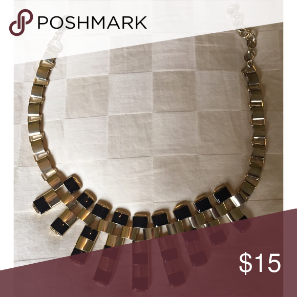 Gold and black chain Costume jewelry Costume jewelry Chains and