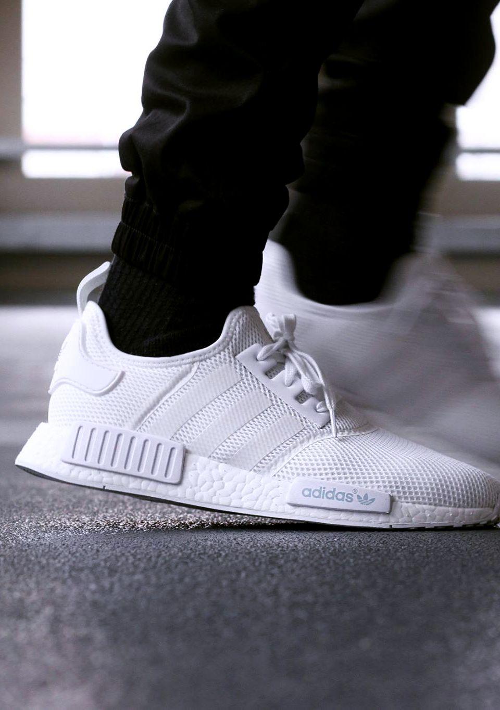 sneakerando adidas nmd r1 white style pinterest