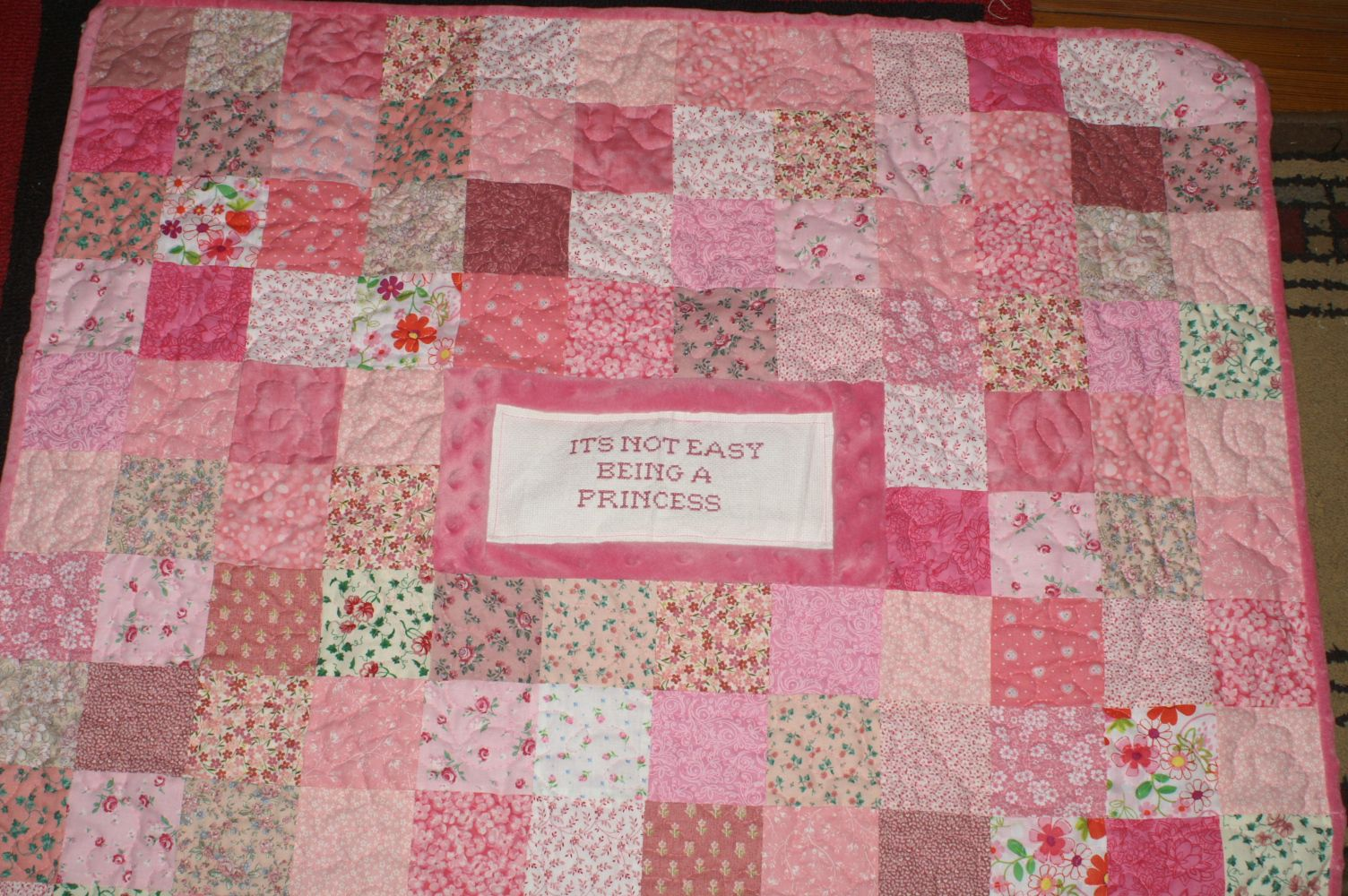 A special creation this is my latest quilt a very