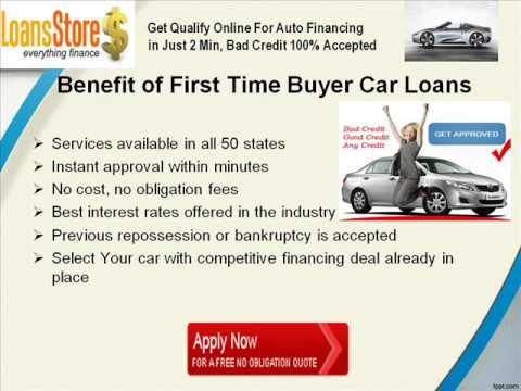 First Time Buyer Car >> First Time Car Buyers With No Credit Auto Loans With