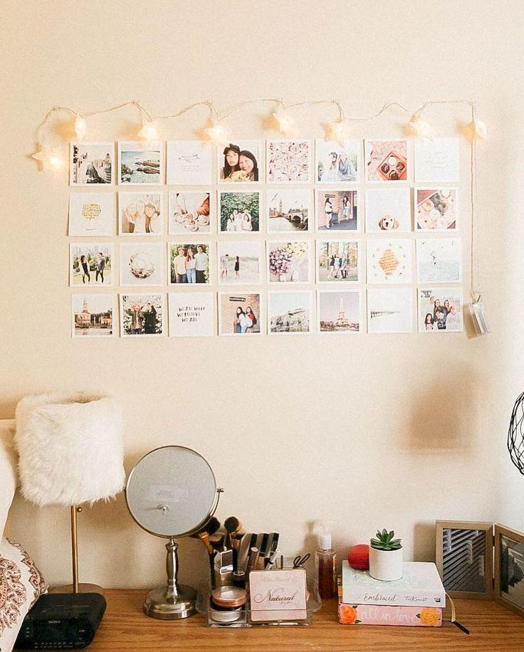 65 süße Wohnheimzimmer Dekorieren Ideen mit kleinem Budget #collegedormroomideas