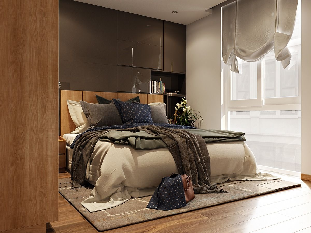 3 Contemporary Bedroom Themes With Beautiful Wardrobe Design   RooHome |  Designs U0026 Plans