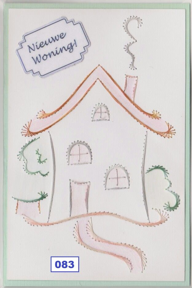 Own Pattern Dalara Creatief | stitching card nativity | Pinterest ...