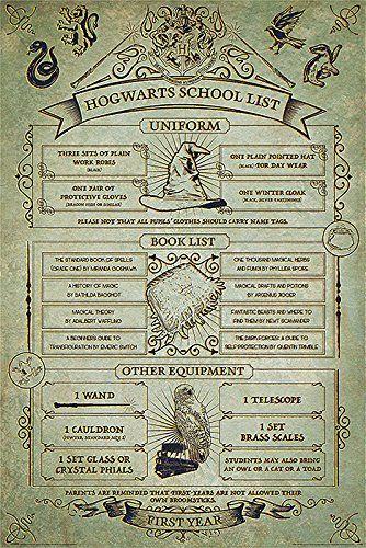 Harry Potter Hogwarts Hausordnung Poster Geschenkidee Geschenk Gift Idea Harry Potter Harrypotter Ron Und Hermine Harry Potter World Harry Potter Film