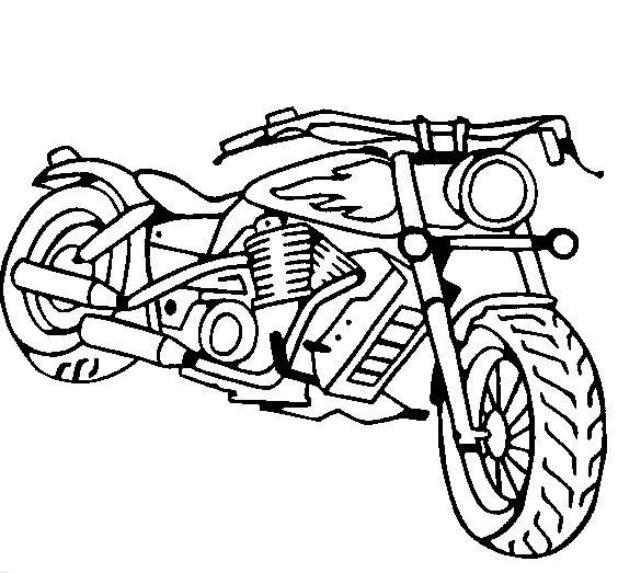 Pin de Coloring Fun en Motor Vehicles & Motorcycles | Pinterest