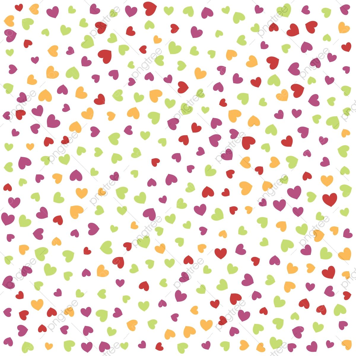 Colorful Vector Hearts Pattern Logo Love Romance Png And Vector With Transparent Background For Free Download Heart Patterns Paint Splash Background Seamless Pattern Vector