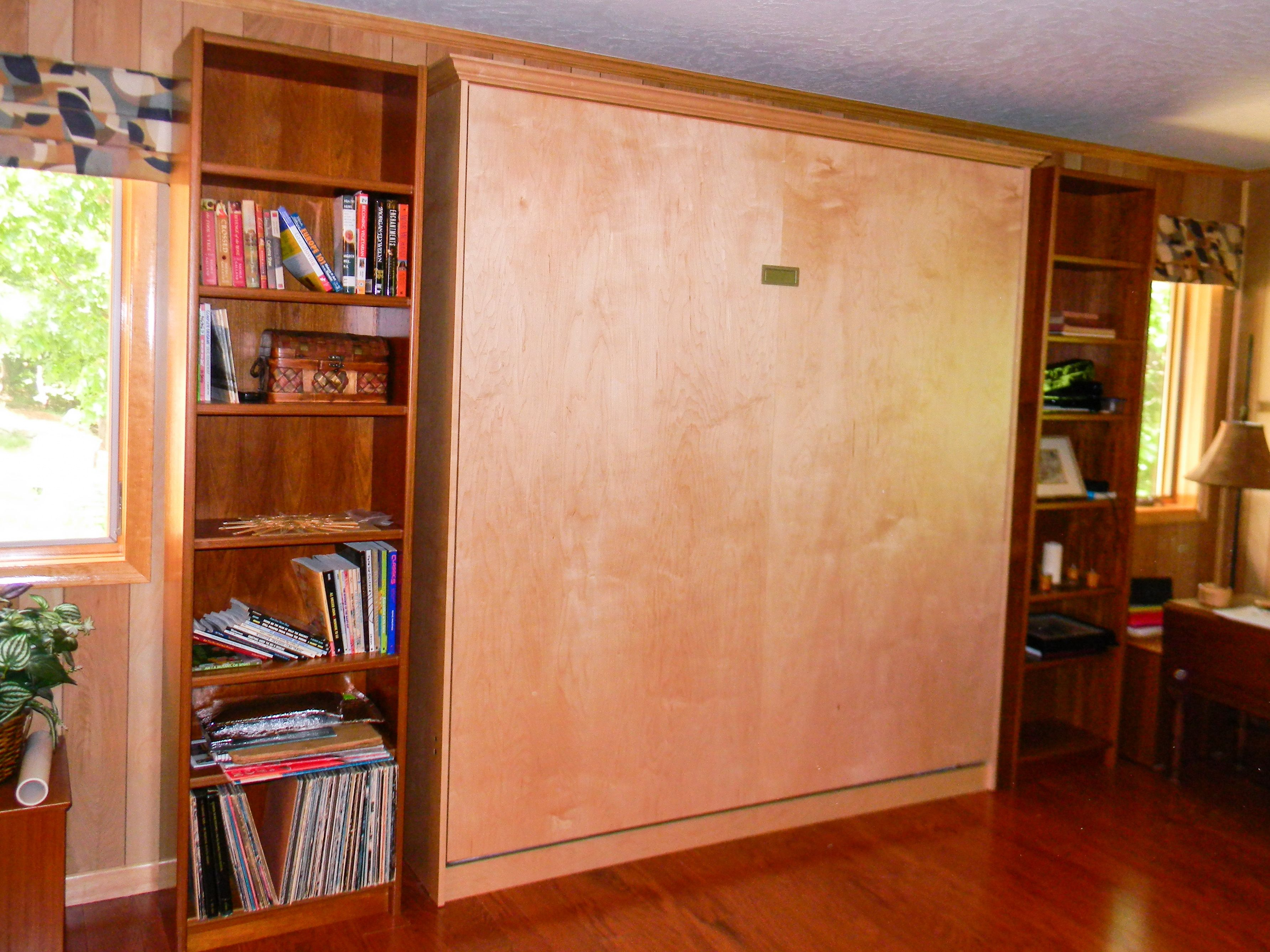 Custom King Size Fremont Collection Murphy Bed By Murphy Wallbed