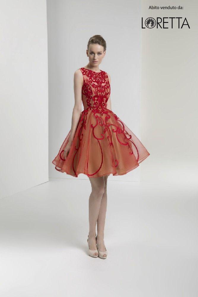 d032178cf5 Vestito rosso con gonna a ruota – Vestiti da cerimonia