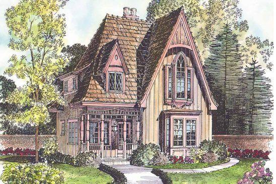 Oldham Victorian Farmhouse House Plans My House Plans Victorian House Plans
