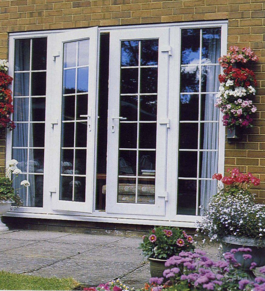 French doors to screened porches best french patio doors for External door with window