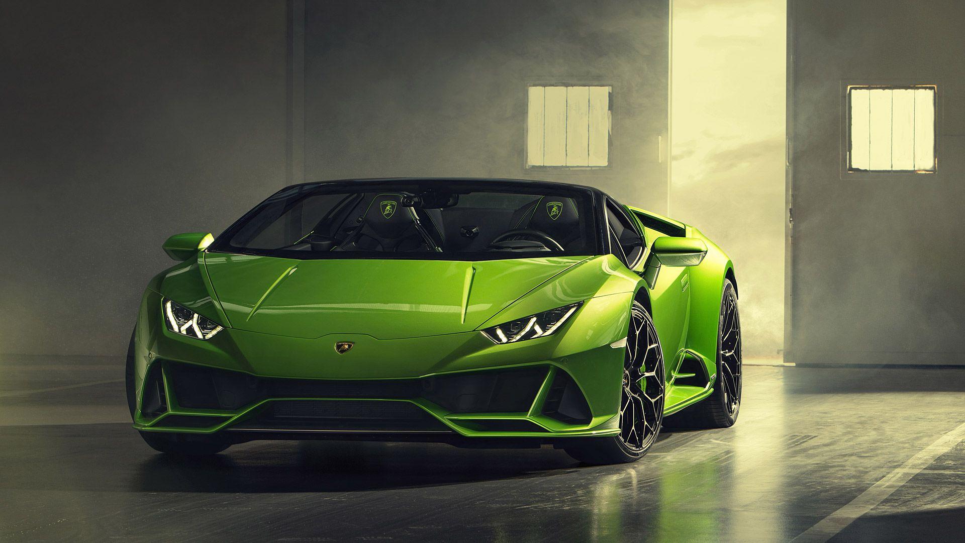 2019 Lamborghini Huracan Evo Spyder Lamborghini Huracan Lamborghini Super Cars