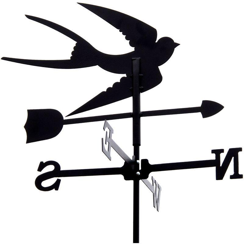 Girouette Hirondelle En Fer Forge Petit Modele 4173 En 2020 Girouette Girouette De Jardin Boite A Lettre