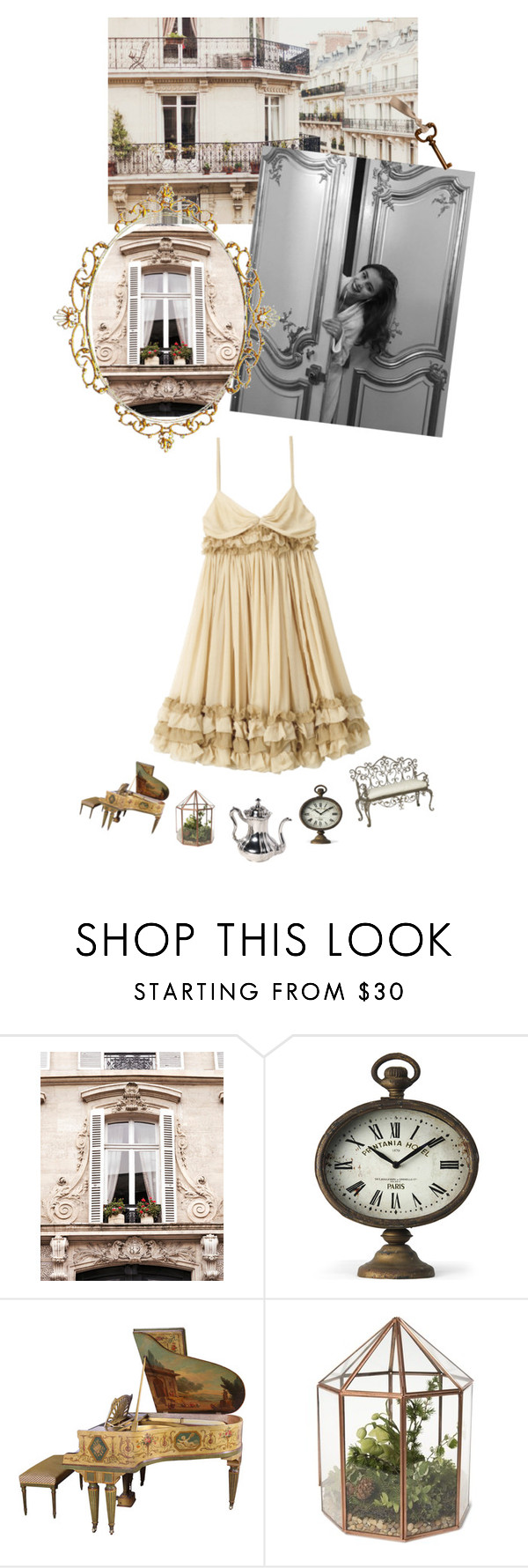 """""""My lovely home in Paris!"""" by marialay ❤ liked on Polyvore featuring WALL and D&G"""