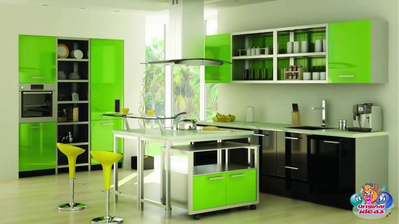 50 Original color schemes suitable for the Modern Kitchen ...