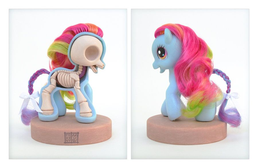 My Little Pony Anatomy Sculpt by ~freeny on deviantART   Art ...
