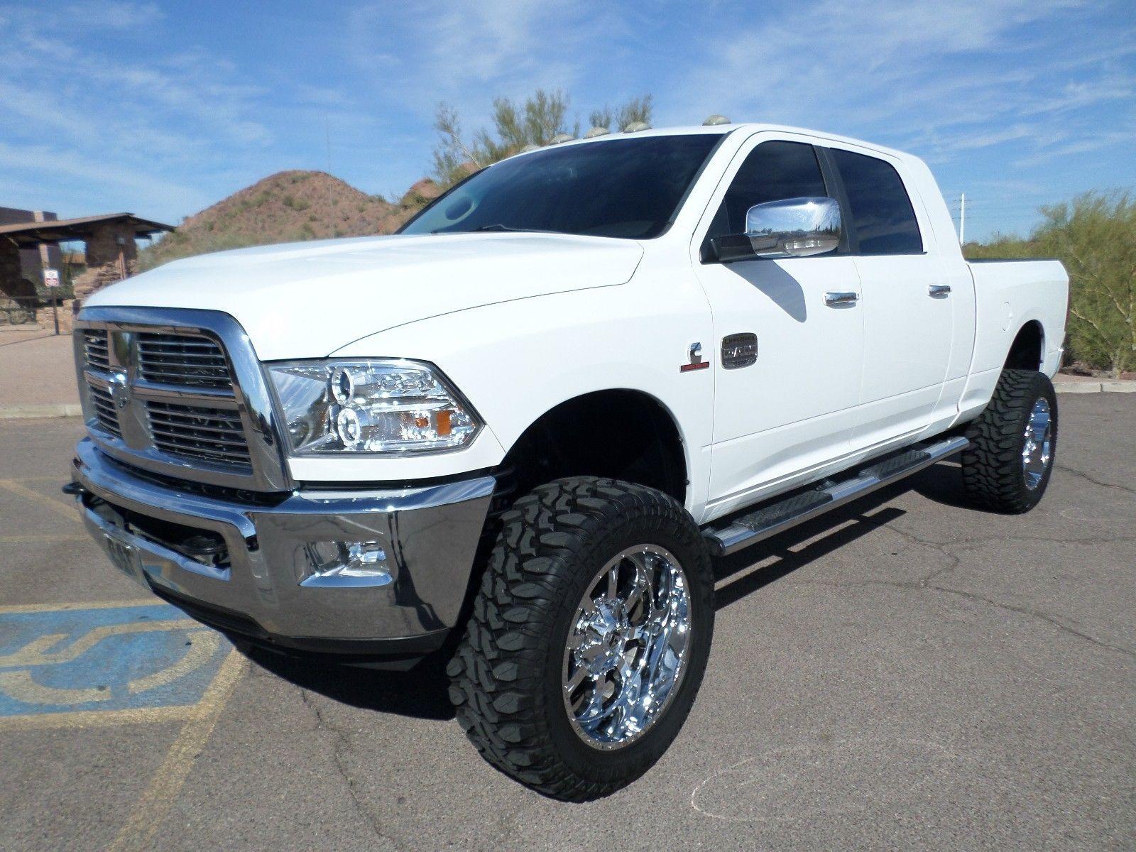 Loaded 2011 Dodge Ram 2500 Laramie Lifted Diesel Trucks Chevy Diesel Trucks Dodge Diesel Trucks