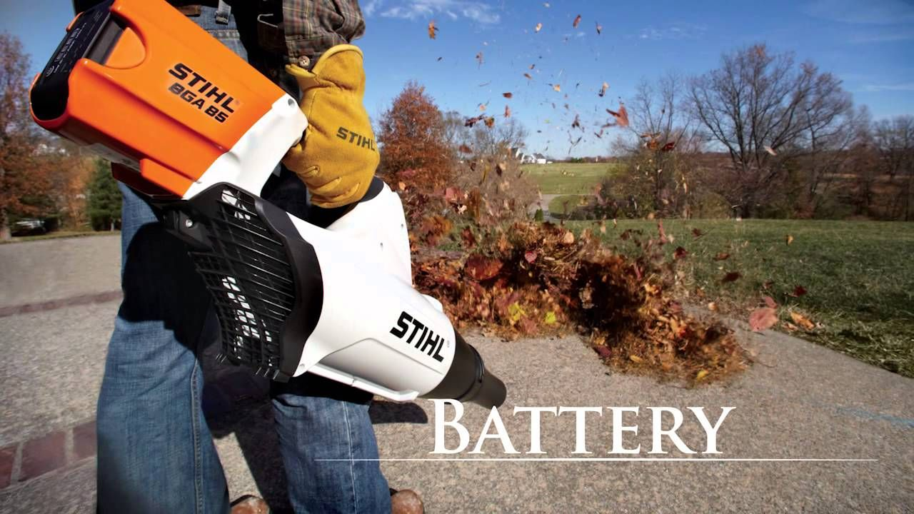 Stihl Air Power Full Blower Line Stihl Electric Leaf Blowers Halloween Store