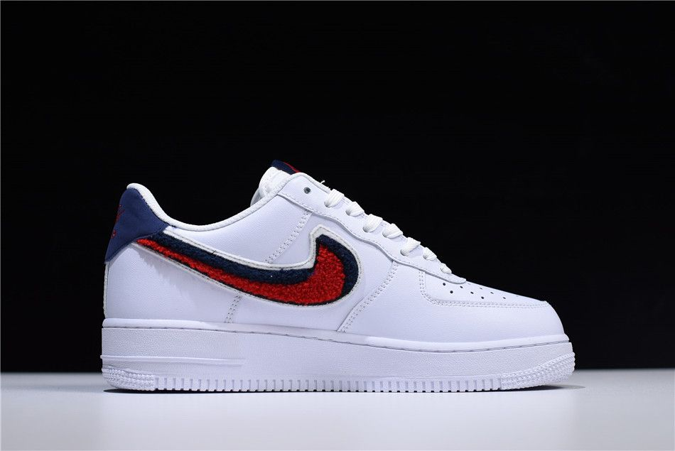 "a14d6180 Buy Nike Air Force 1 Low '07 LV8 ""Chenille Swoosh"" White/University ..."