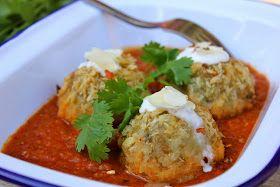 LA COCINA DE BABEL: Malai Kofta con salsa especiada.