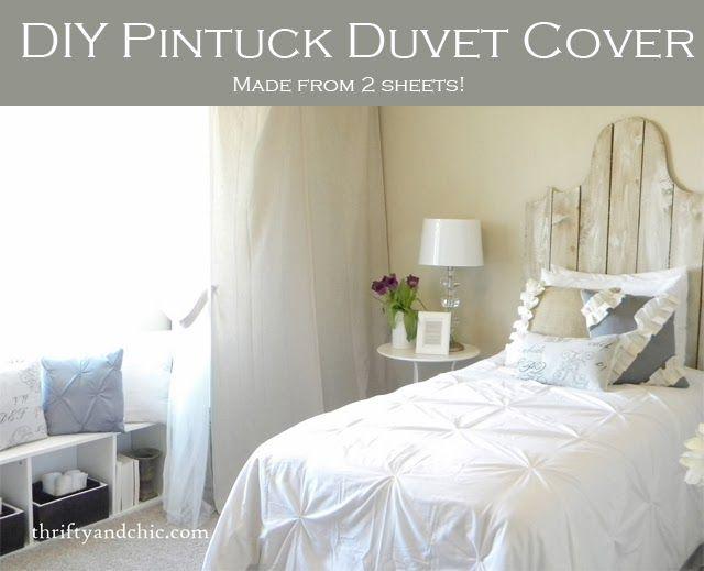 Diy Pintuck Duvet Cover Diy Duvet Duvet Cover Diy Pintuck Duvet Cover
